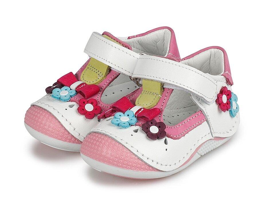 resm Beyaz Deri Kız Çocuk Casual Ayakkabı