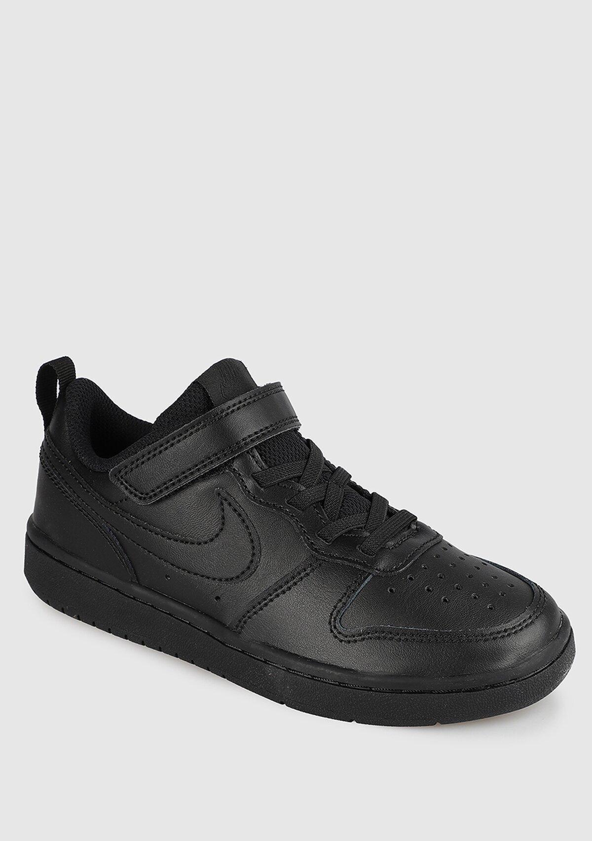 resm Court Borough Low Siyah Unisex Basketbol Ayakkabısı Bq5451-001