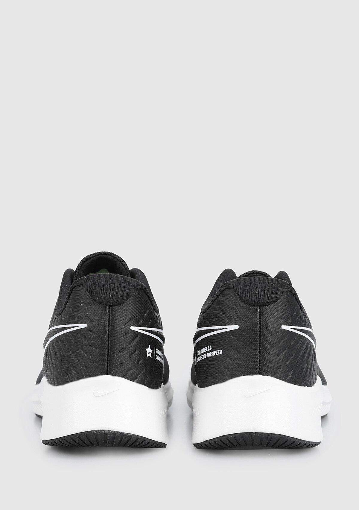 resm Star Runner Siyah Kadın Koşu Ayakkabısı Aq3542-001