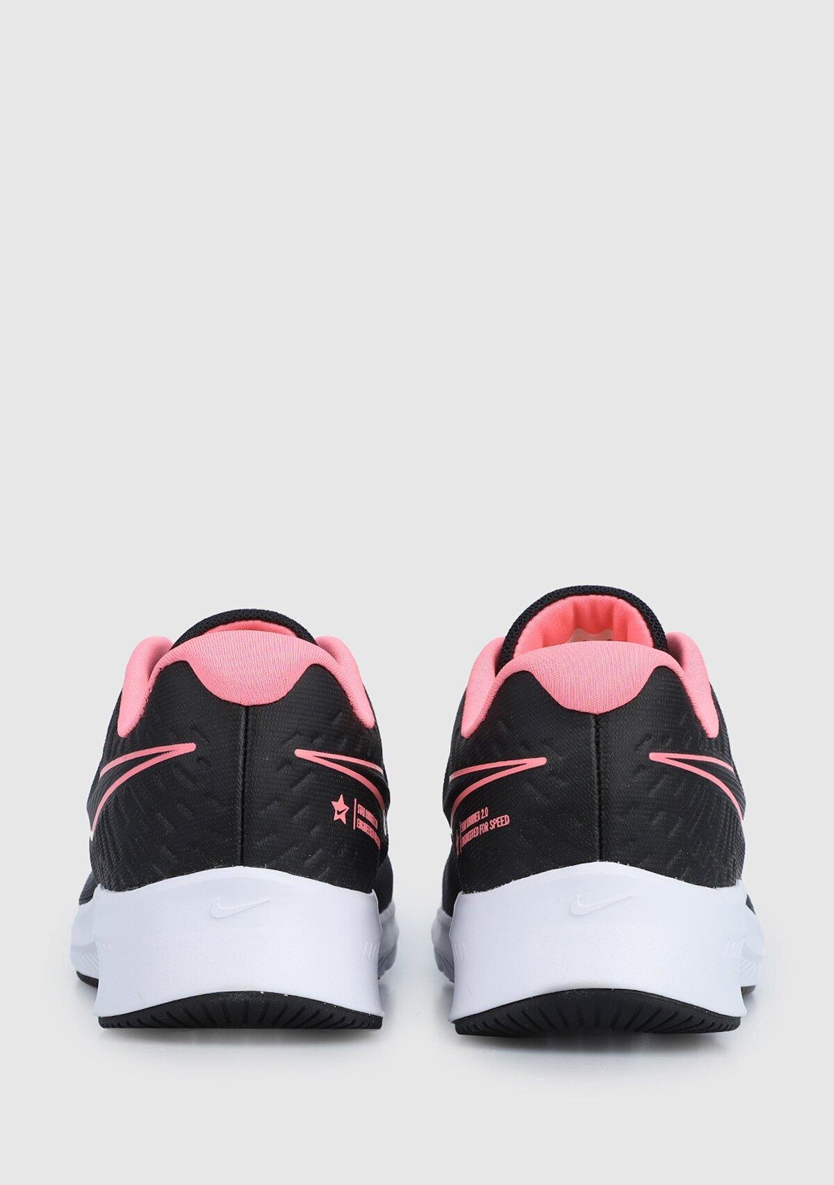resm Star Runner Siyah Kadın Koşu Ayakkabısı Aq3542-002