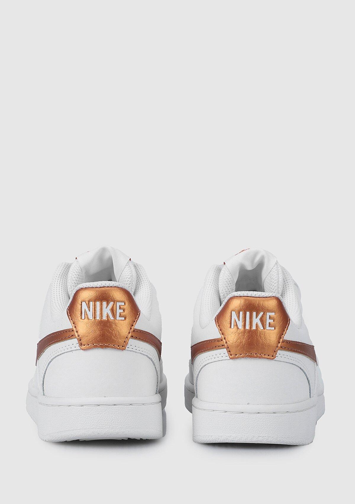 resm WMNS Court Vision Beyaz Kadın Sneaker CD5434-107
