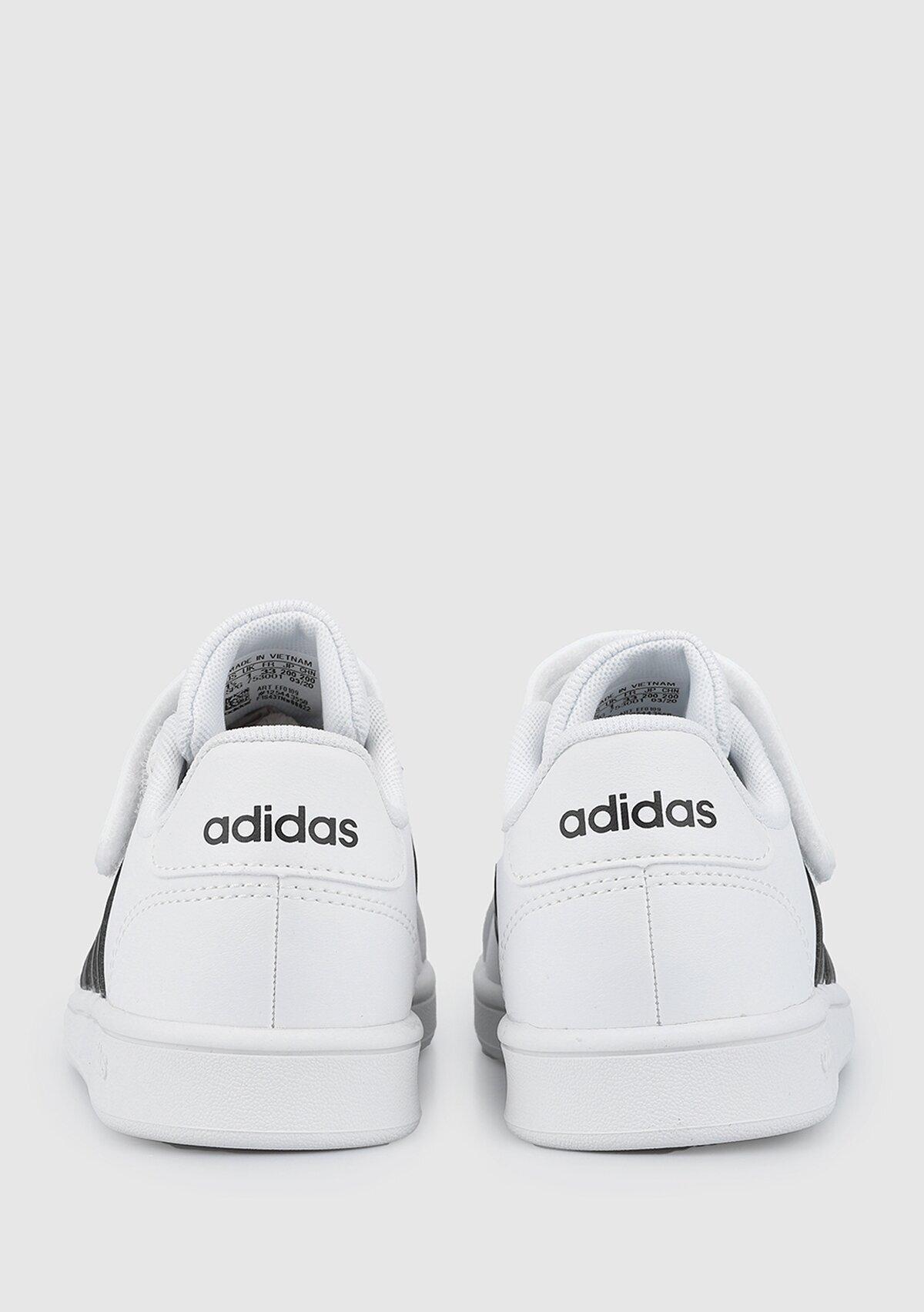 resm Grand Court C Beyaz Unisex Tenis Ayakkabısı EF0109