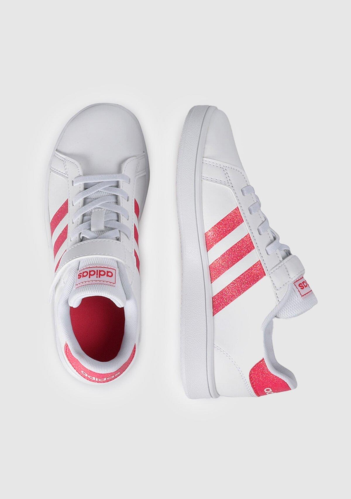 resm Grand Court C Beyaz Unisex Tenis Ayakkabısı Eg3811