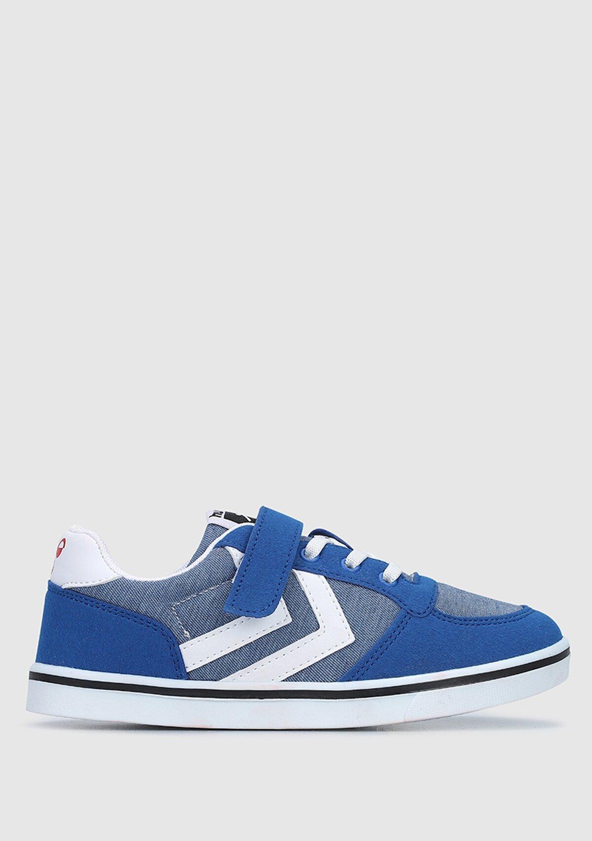 resm Hml Stadil Print Jr Mavi Sneaker 212702-7986