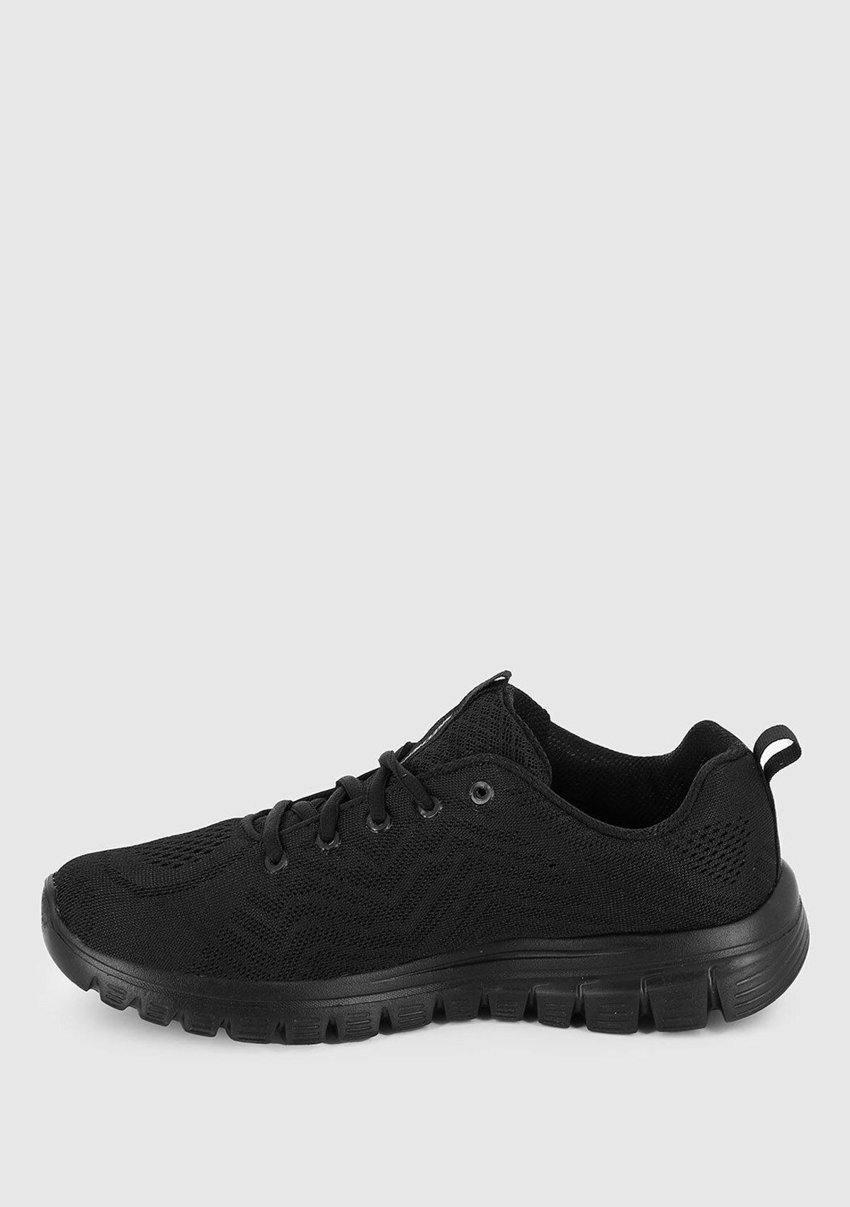 resm Graceful Siyah Kadın Sneaker 12615Bbk