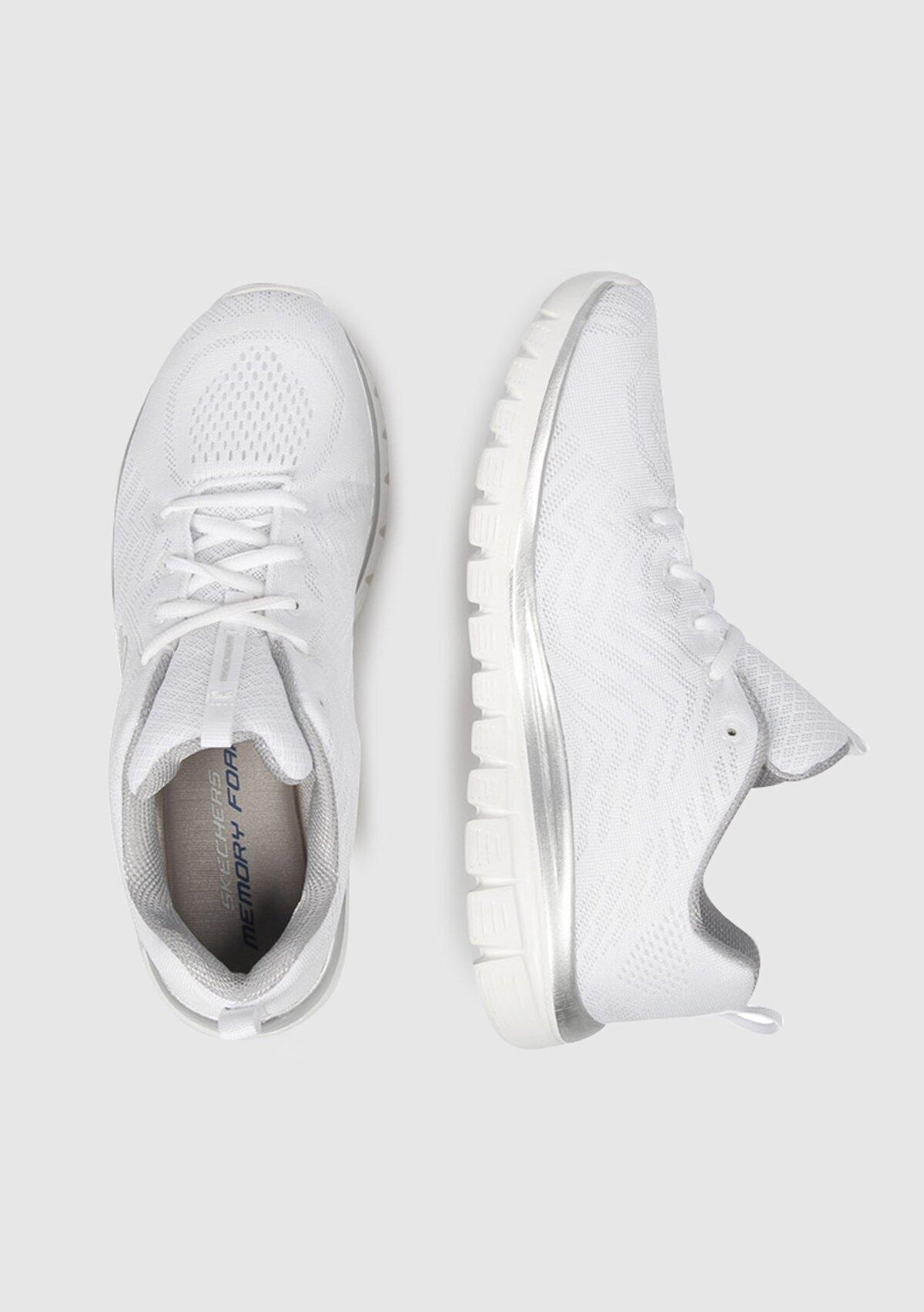 resm Graceful Beyaz Kadın Sneaker 12615Wsl