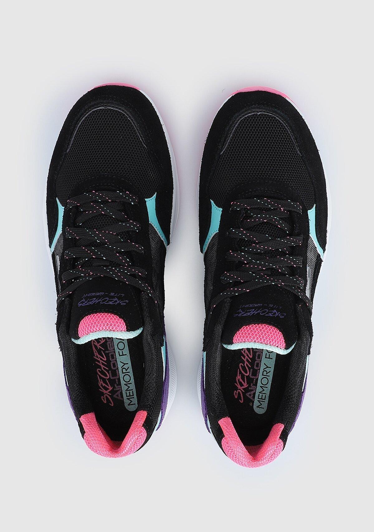 resm Meridian Siyah Kadın Sneaker 13020Bkmt