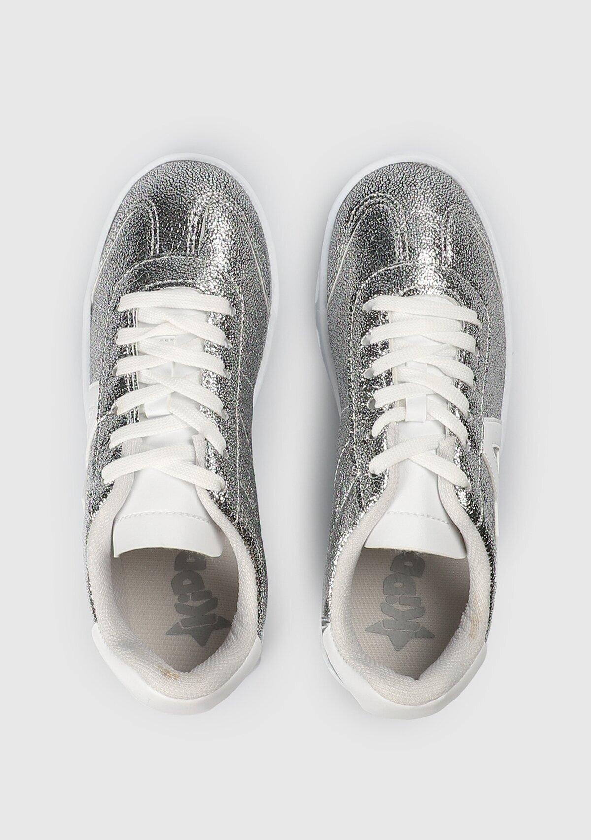resm Gümüş Kız Çocuk Sneaker