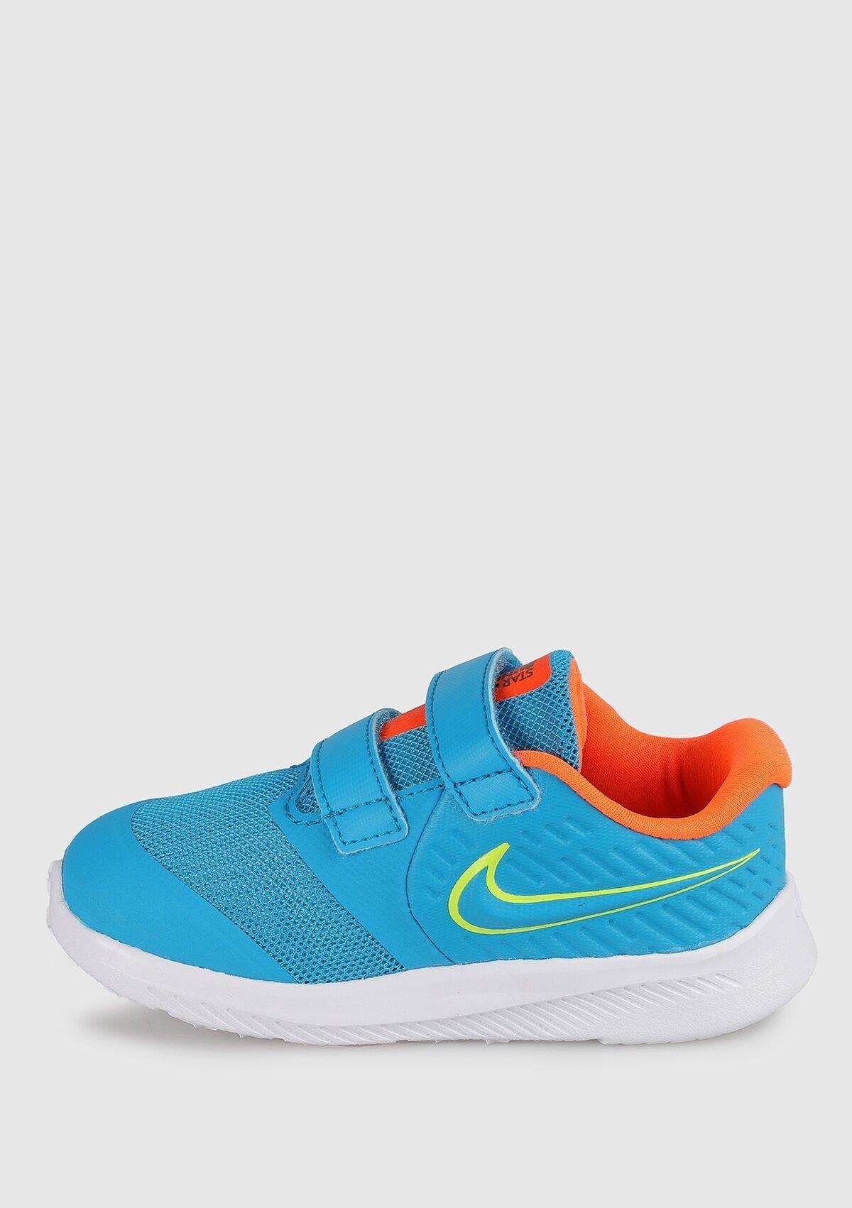 resm Star Runner Mavi Unisex Çocuk Koşu Ayakkabısı At1803-403