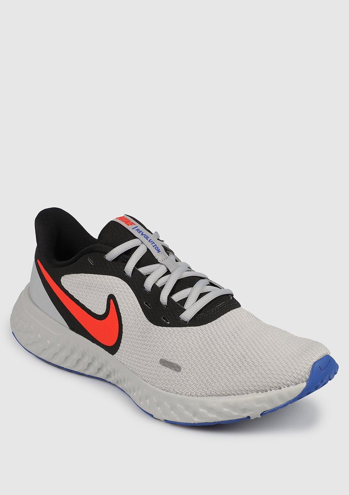resm Revolution 5 Gri Erkek Koşu Ayakkabısı Bq3204-011