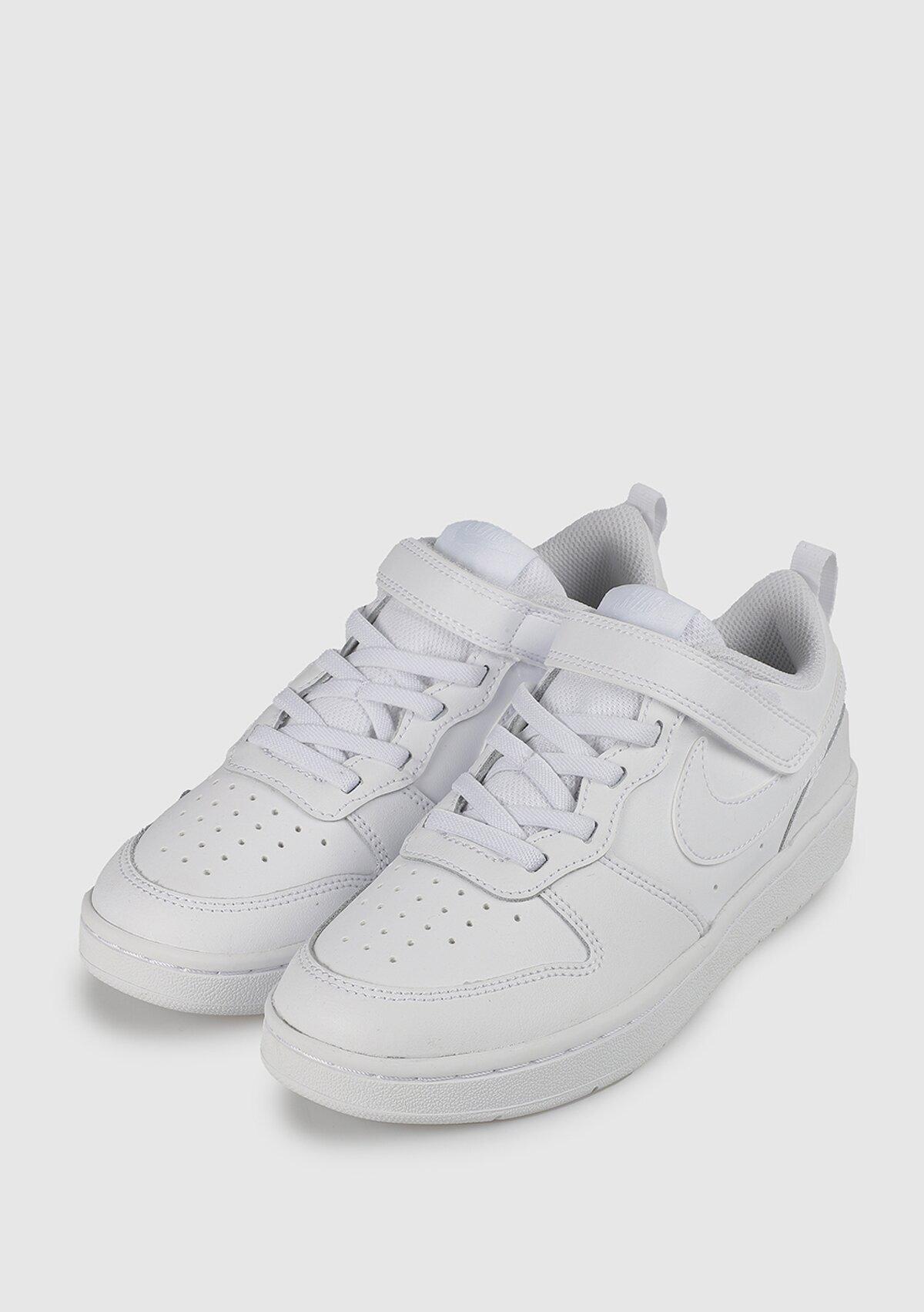 resm Court Borough Low Beyaz Unisex Spor Ayakkabısı Bq5