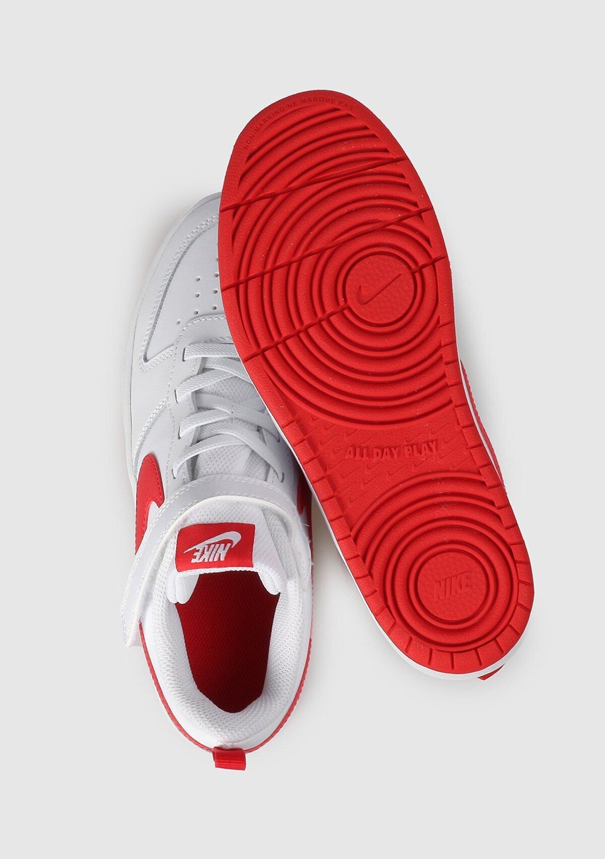 resm Court Borough Low 2 Beyaz Unisex Spor Ayakkabısı Bq5451-103