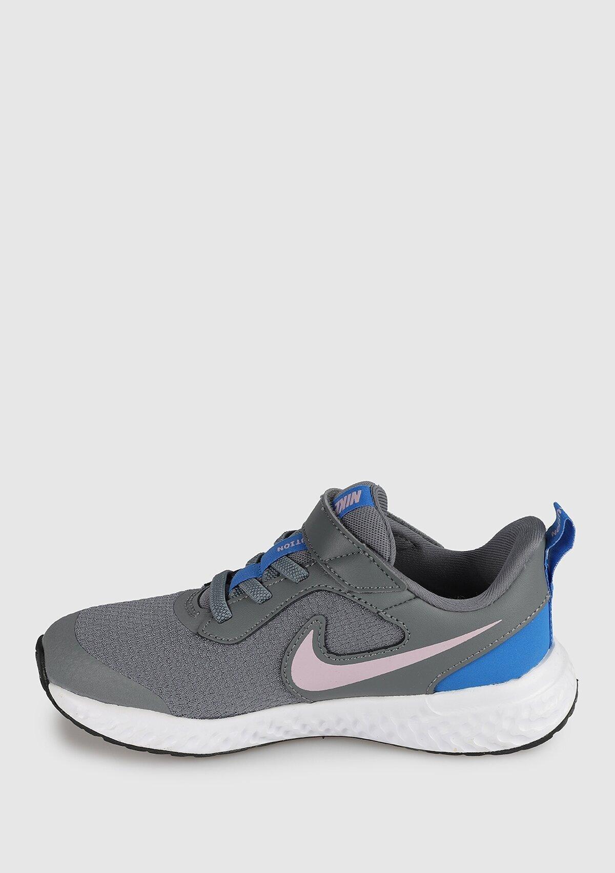 resm Revolution 5 Gri Unisex Spor Ayakkabısı Bq5672-051