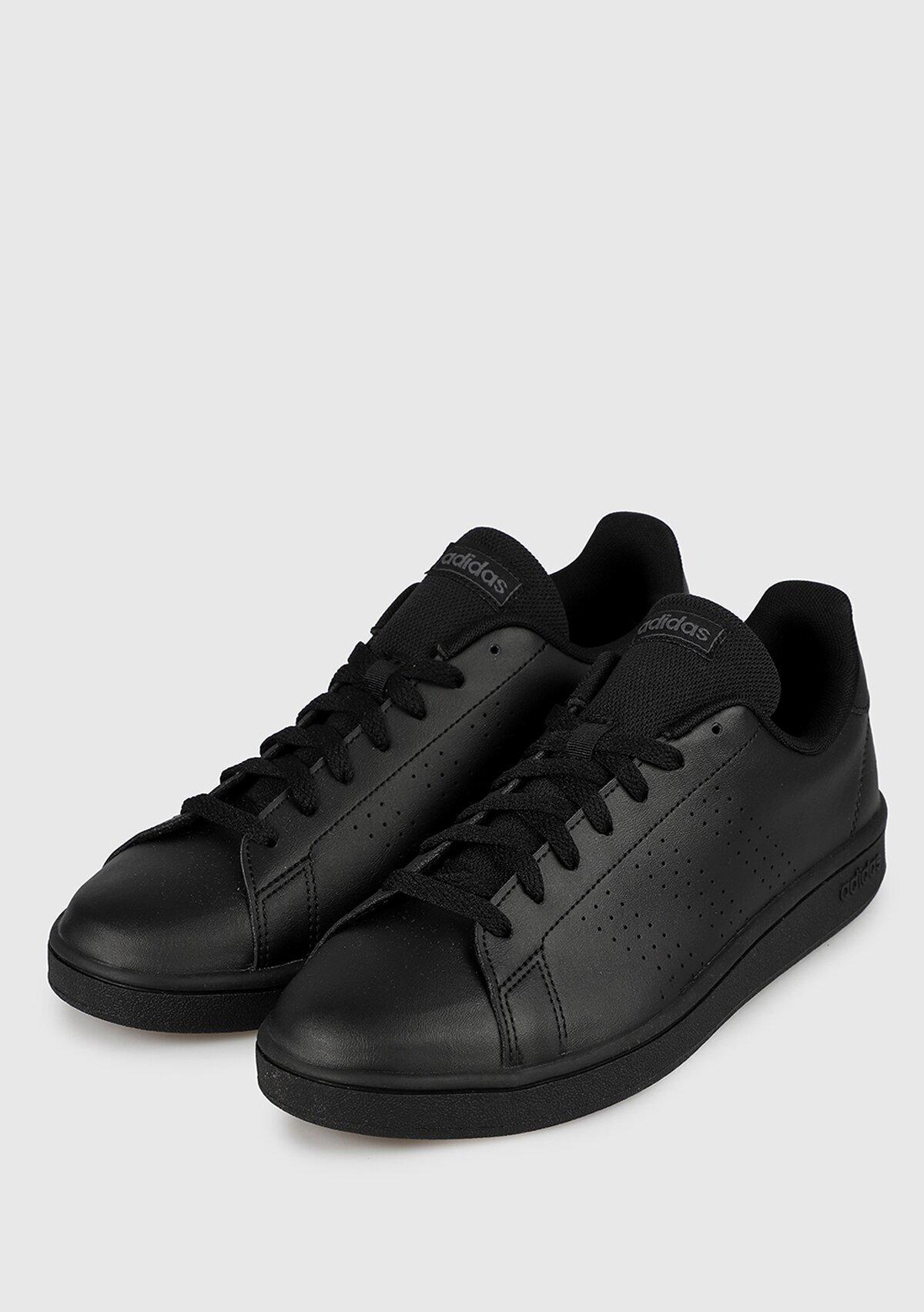 resm Advantage Base Siyah Erkek Sneaker Ee7693