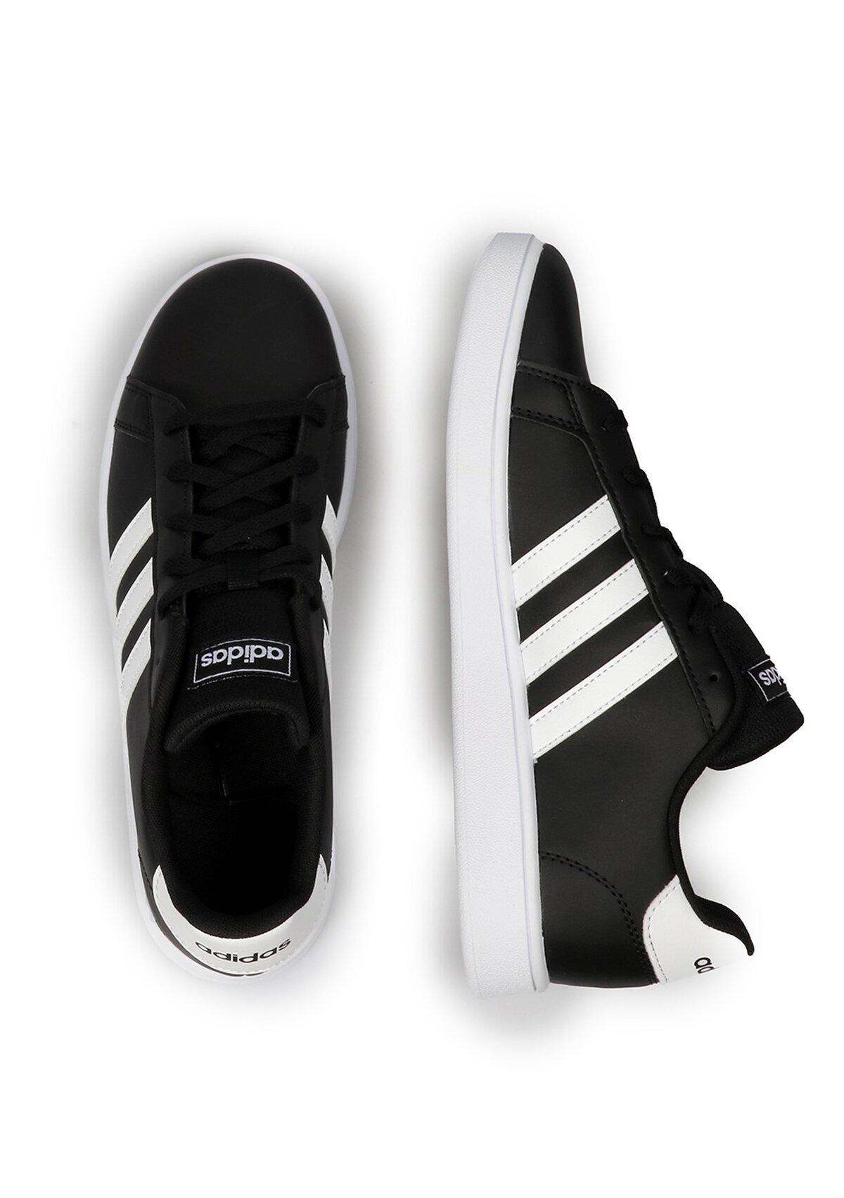 resm Grand Court K Siyah Unisex Sneaker Ef0102