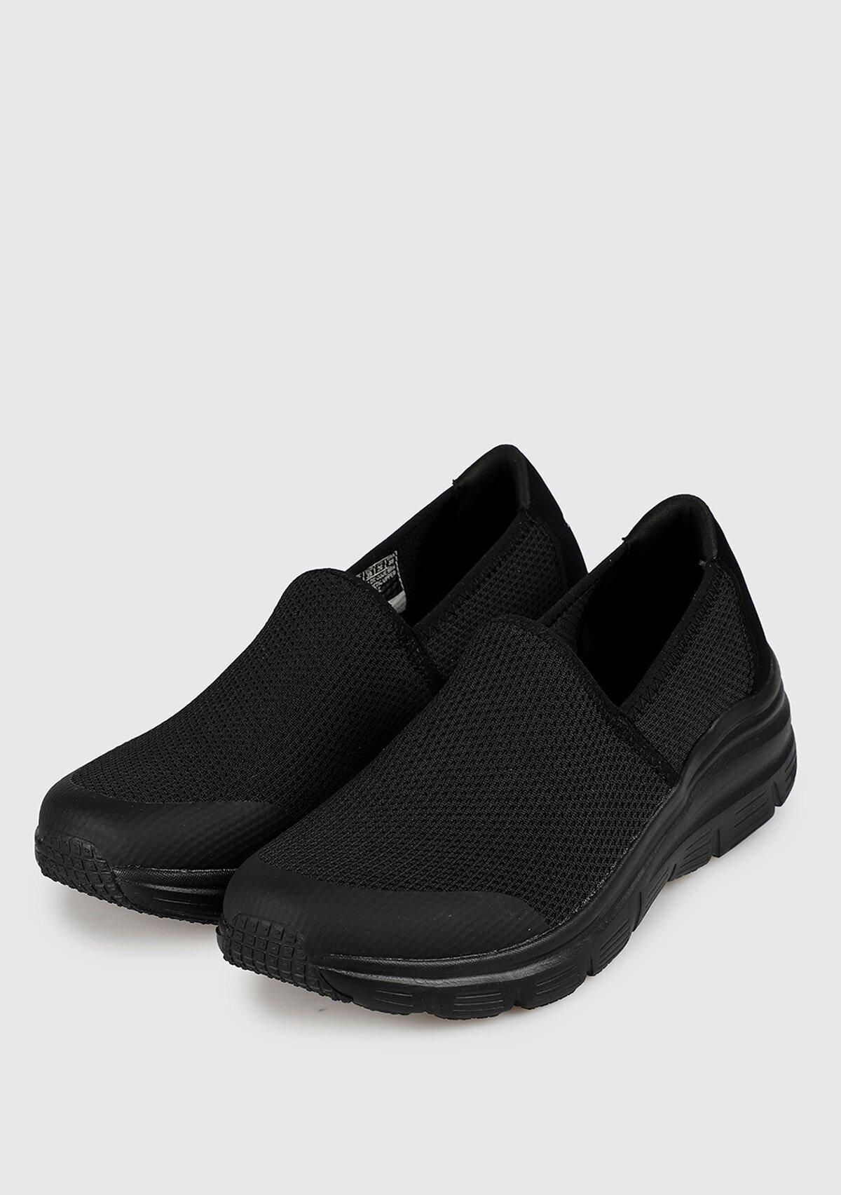 resm Siyah Kadın Sneaker 13312Bbk
