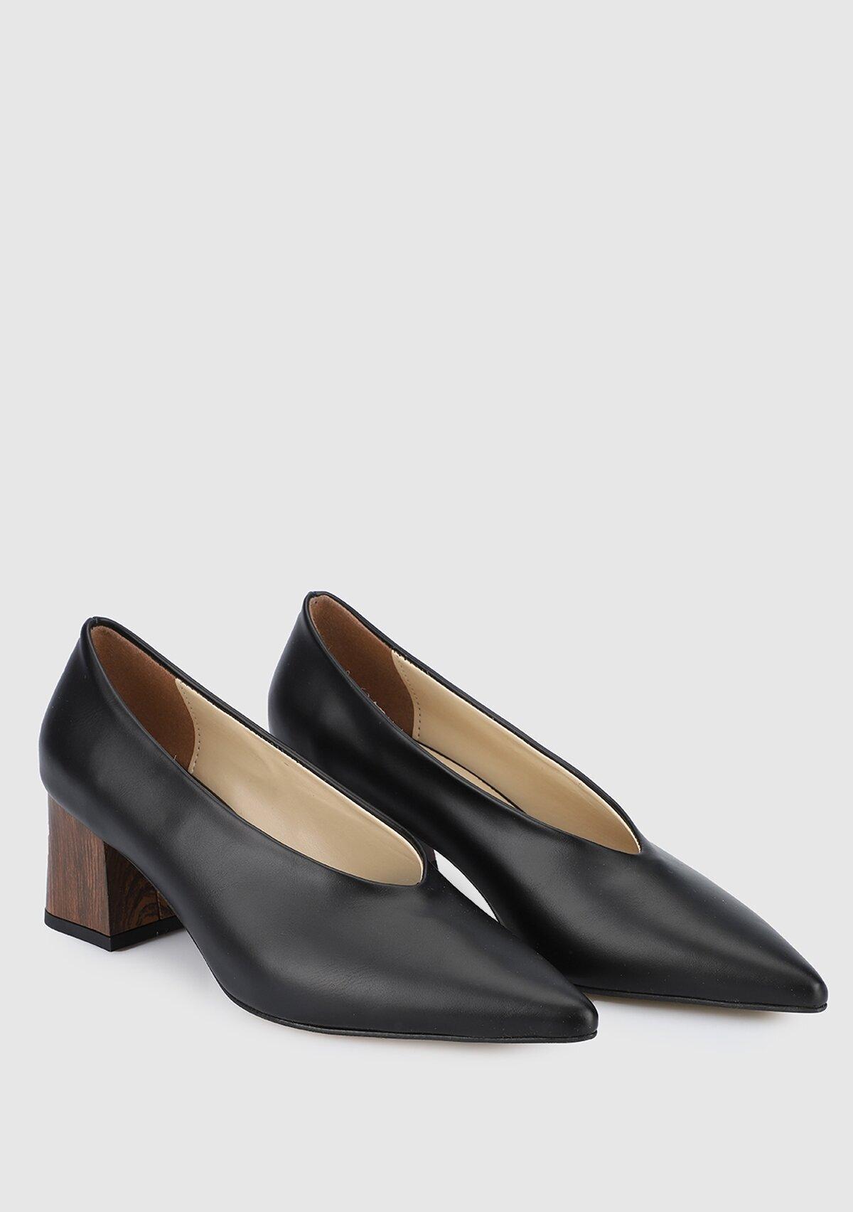 resm Siyah Kadın Ayakkabı