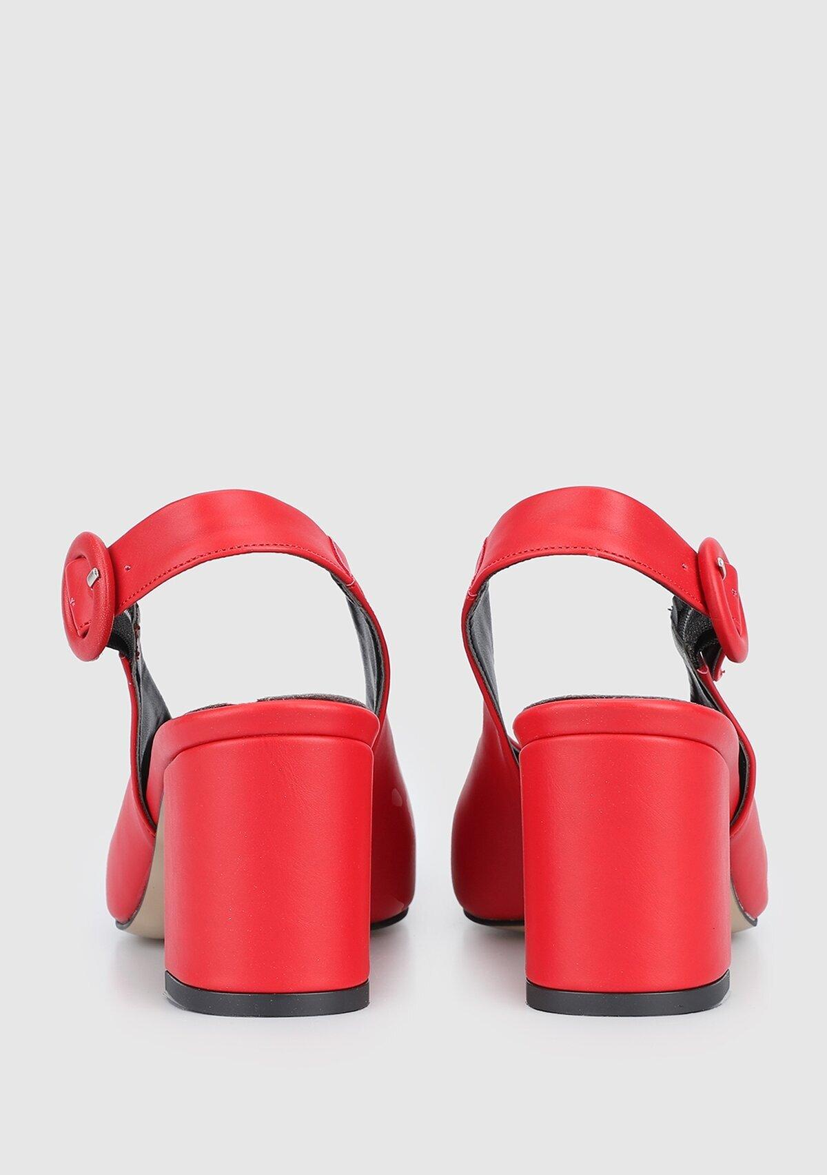 resm Kırmızı Kadın Ayakkabı