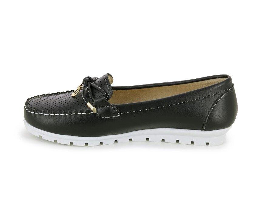 resm Siyah Kadın Loafer Ayakkabı