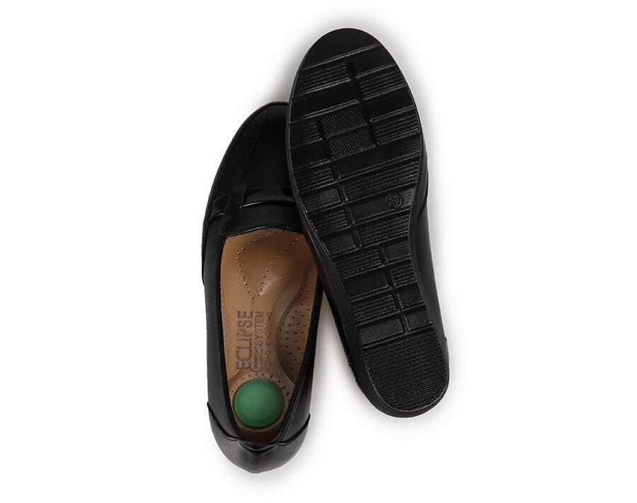 resm Siyah Kadın Konfor Ayakkabı