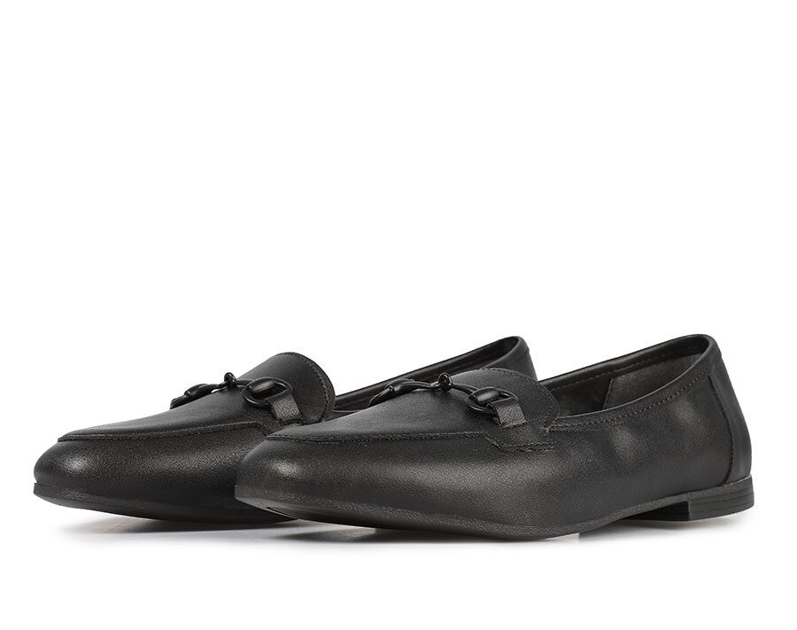 resm Siyah Kadın Makosen Ayakkabı