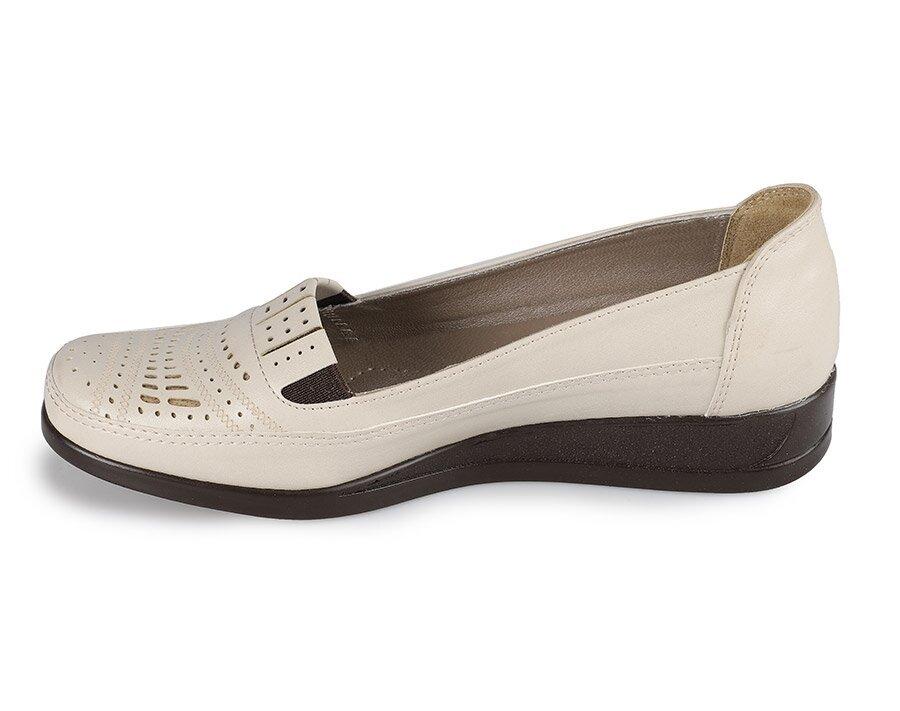 resm Bej Kadın Konfor Ayakkabı