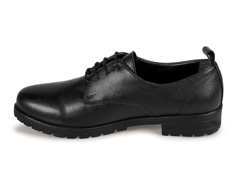 resm Siyah Kadın Oxford Ayakkabı