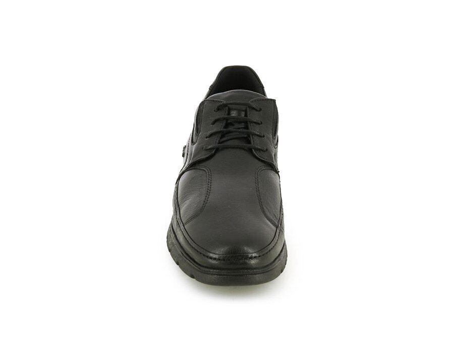 resm Siyah Deri Erkek Konfor Ayakkabı