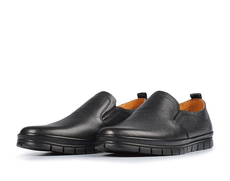 resm Siyah Deri Erkek Casual Ayakkabı