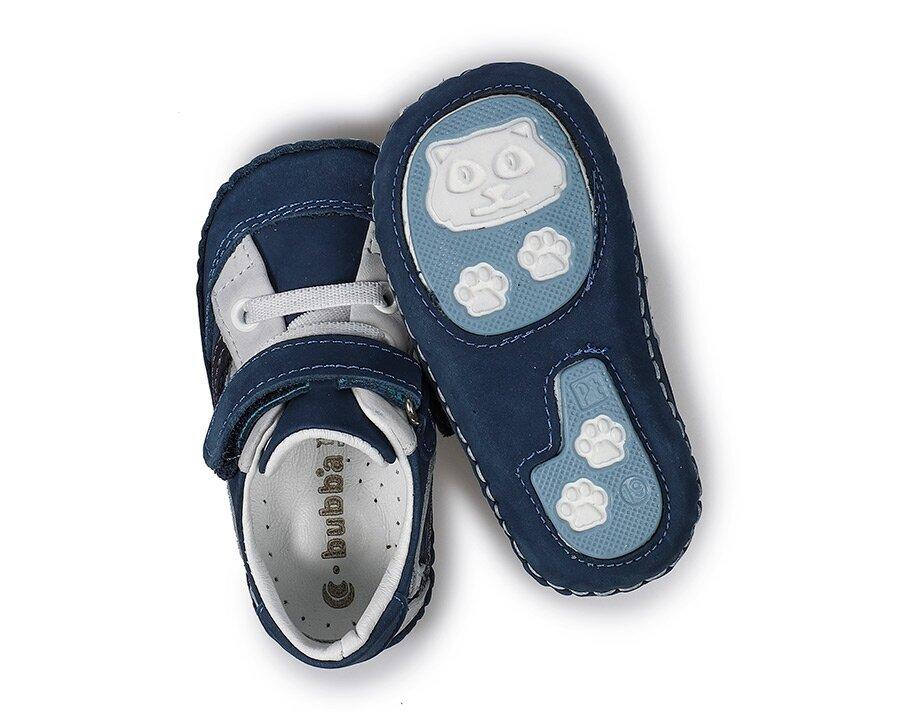 resm Mavi Deri Erkek Çocuk Casual Ayakkabı