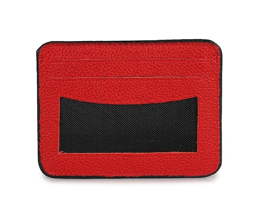 resm Kırmızı Deri Erkek Kartlık