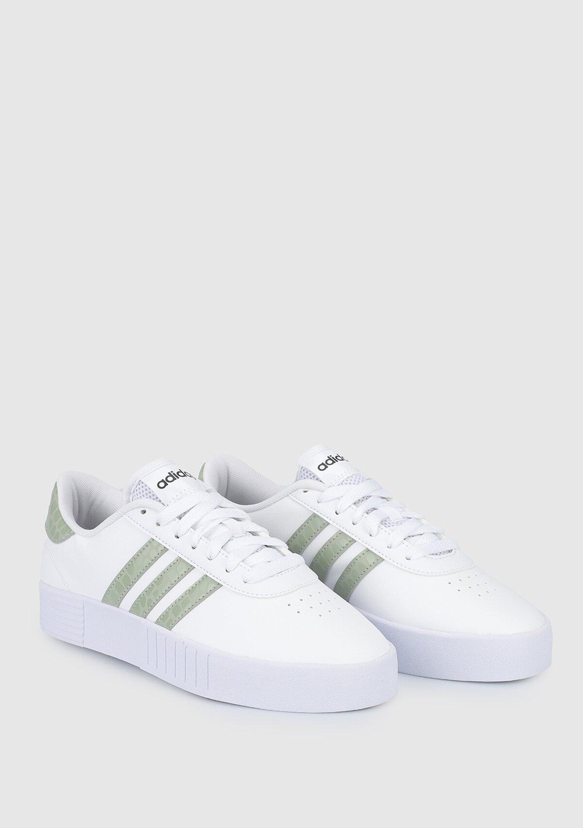resm Court Bold Beyaz Kadın Sneaker FY9995