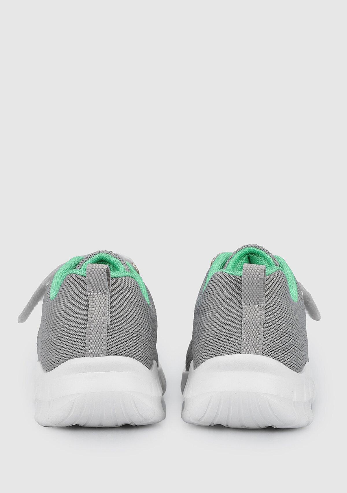 resm Gri-Yeşil  Ayakkabı