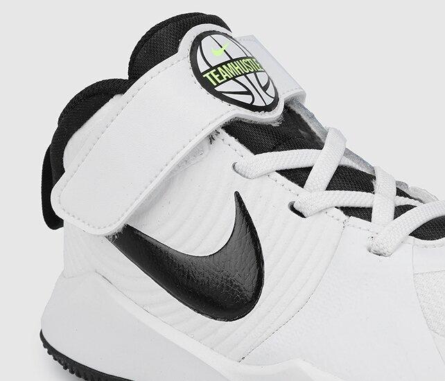 resm Team Hustle D 9 Beyaz Unisex Basketbol Ayakkabısı Aq4225-100