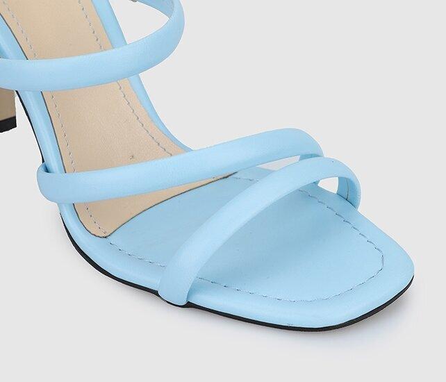 resm Bebe Mavisi Kadın Topuklu Sandalet