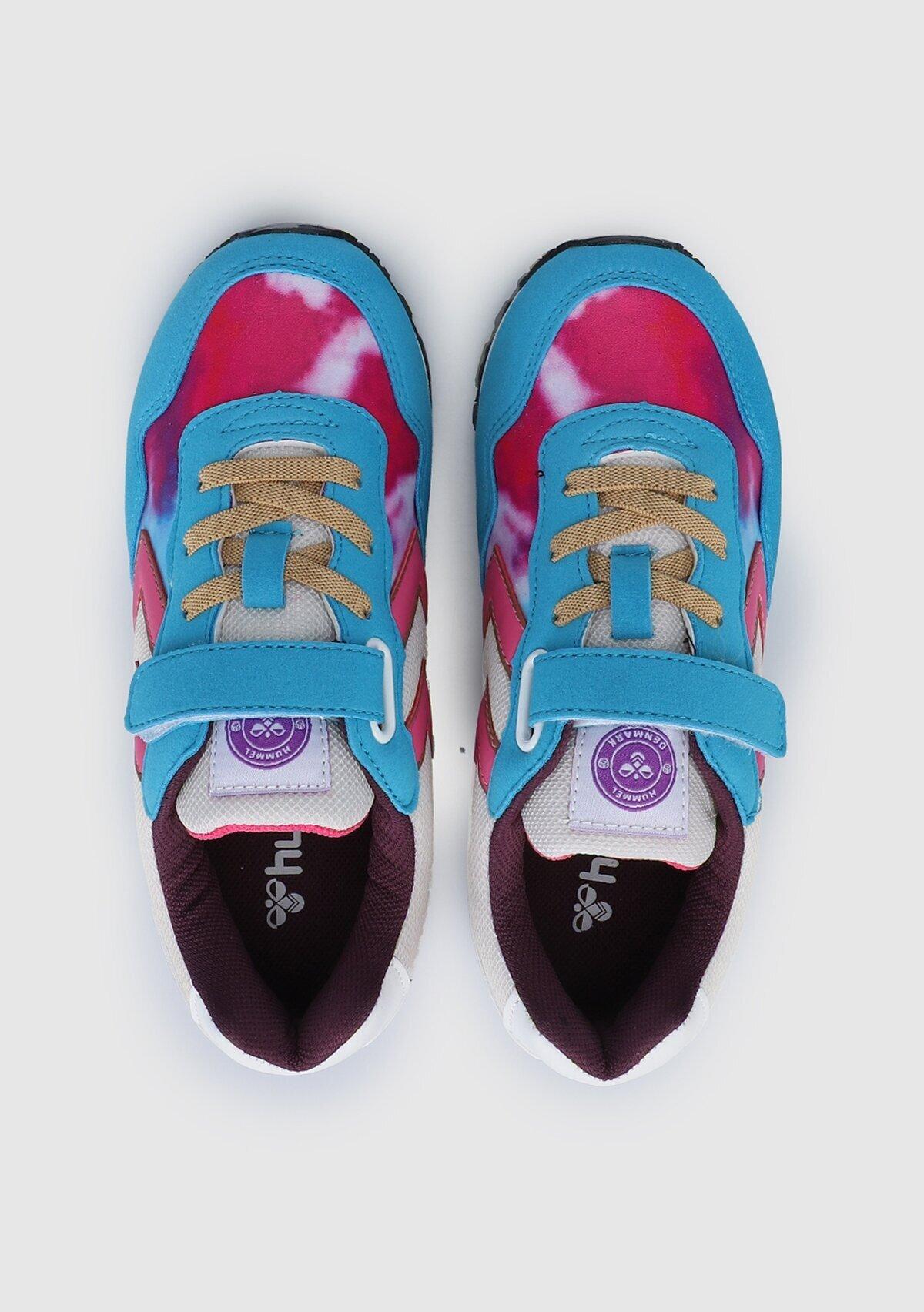 resm Hmlthor Energy Prınted Jr Sneaker Mavi Kız Çocuk Sneaker 212700-7986