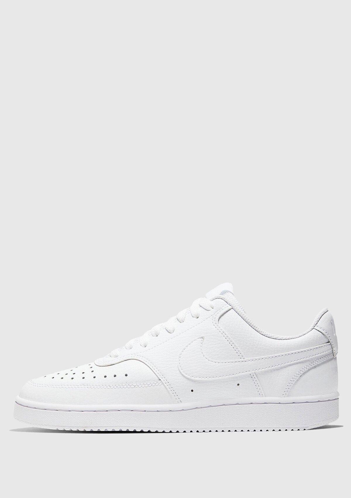 resm Wmns Court Vision Low Beyaz Kadın Sneaker Cd5434-100