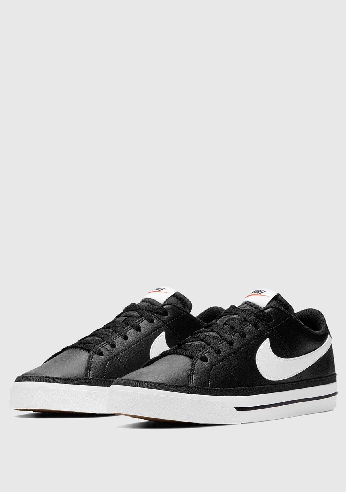 resm Court Legacy Siyah-Beyaz Erkek Sneaker Cu4150-002