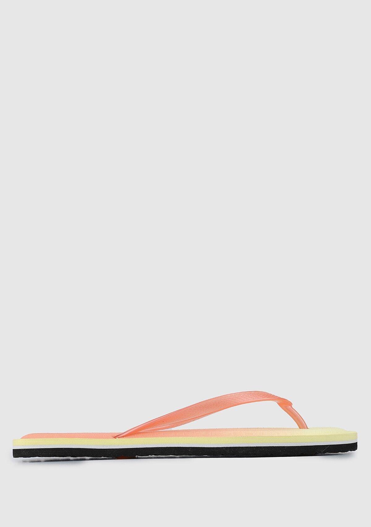 resm Turuncu Kadın Plaj Terliği