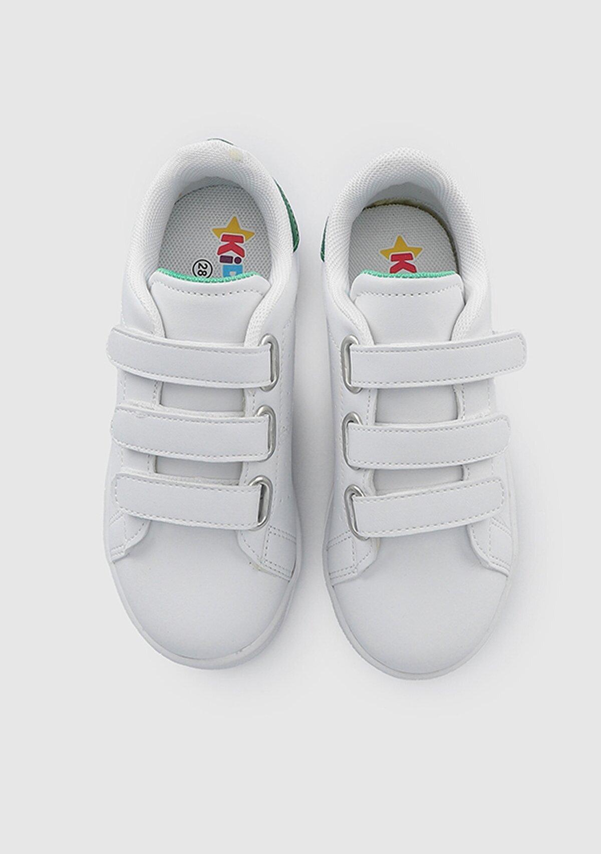 resm Beyaz-Yesil  Ayakkabı