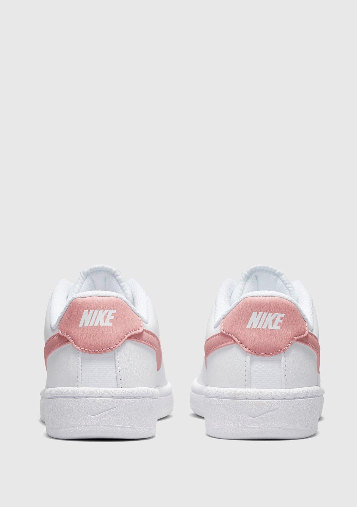 resm Wmnscourt Royale 2 Beyaz-Pembe Kadın Sneaker Cu903
