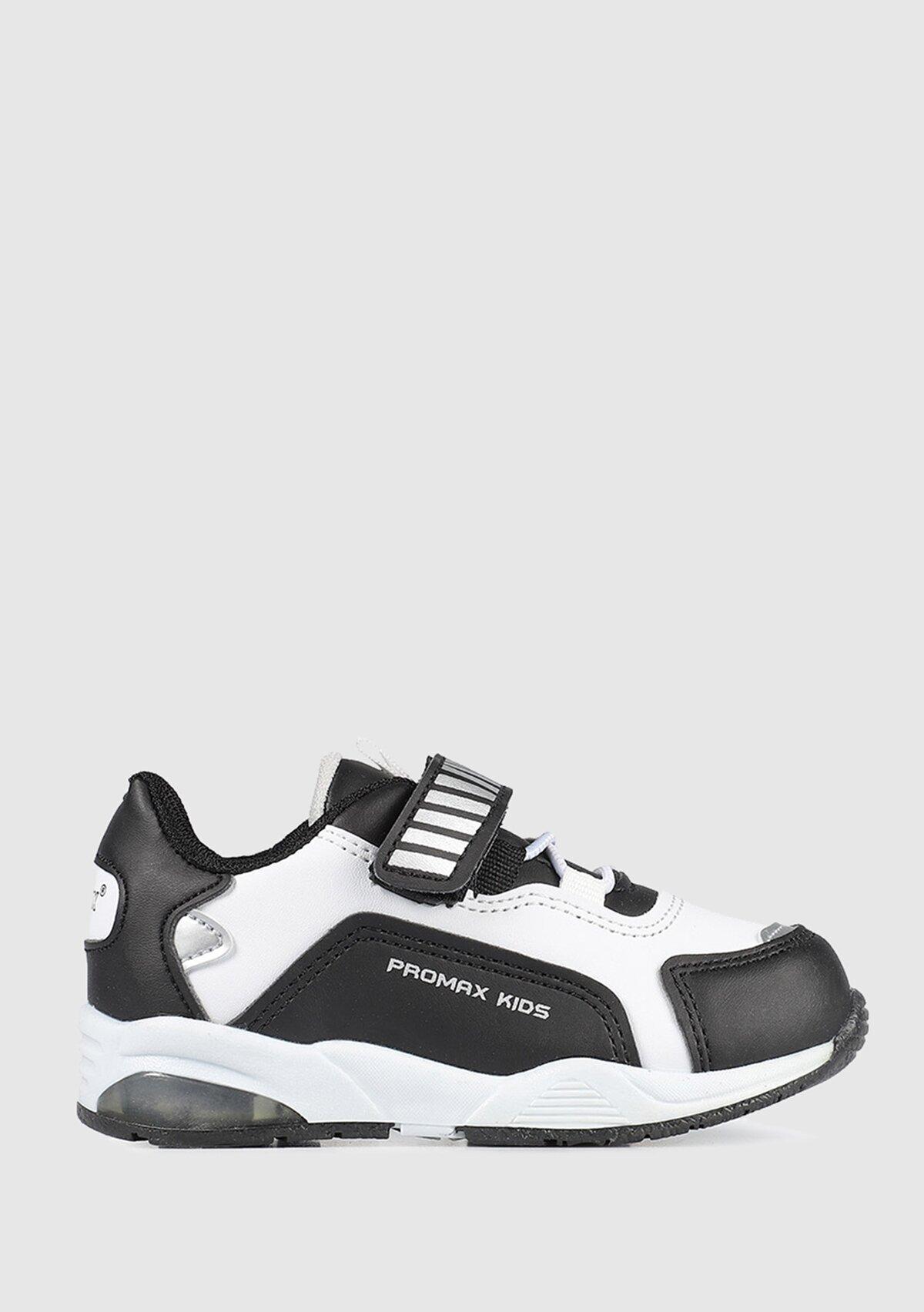 resm Siyah-Beyaz Erkek Çocuk Sneaker