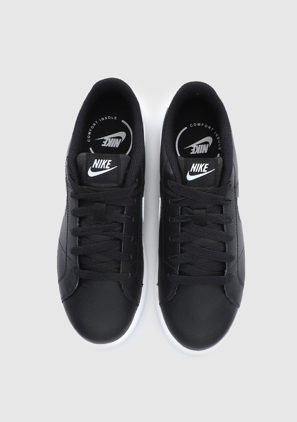resm Court Royale 2 Siyah Kadın Tenis Ayakkabısı Cu9038