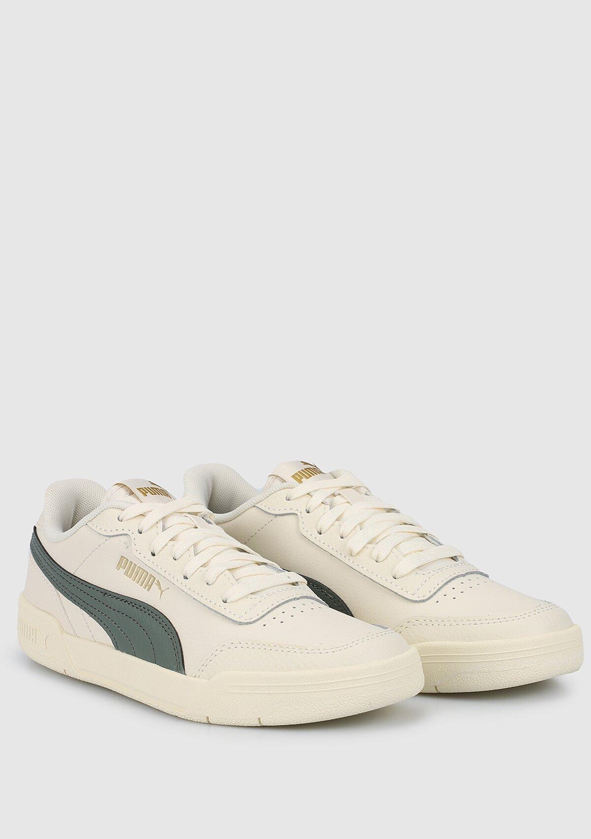 resm Caracal Whisper White-Balsam Green Bej Kadın Sneaker 36986335