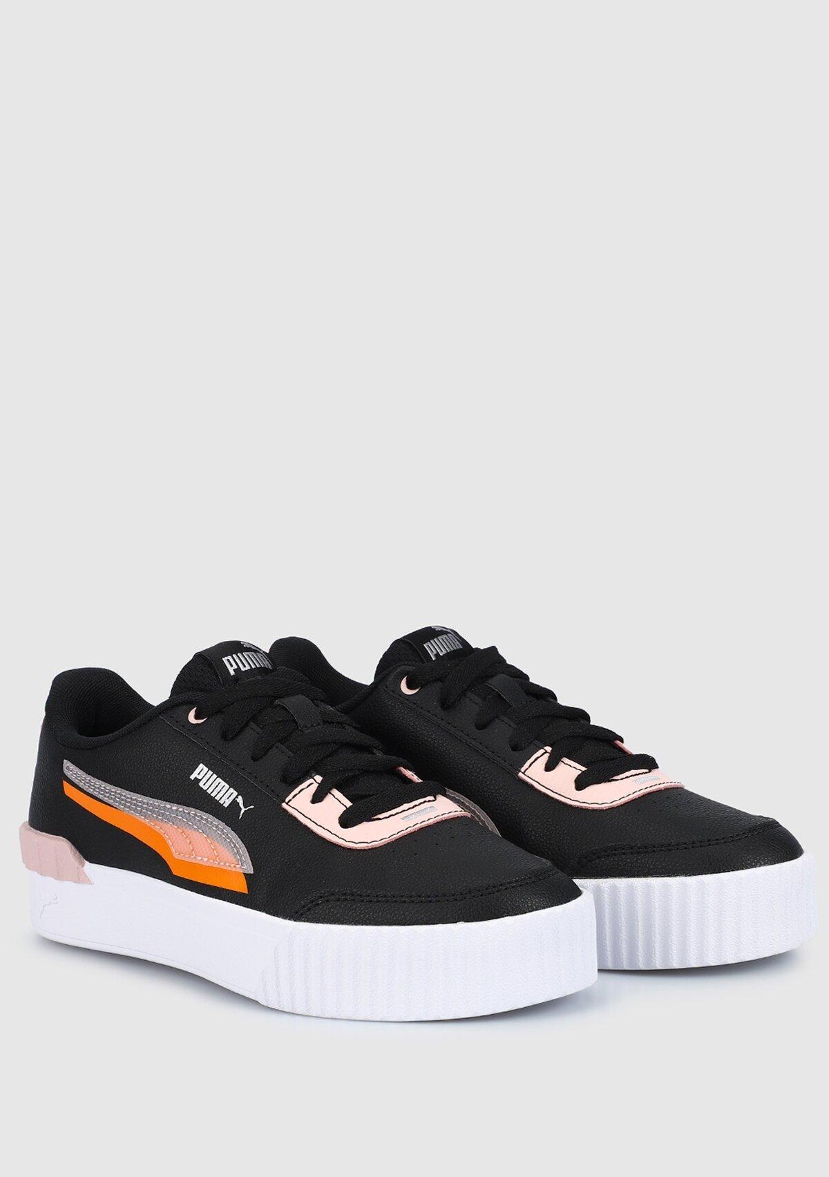 resm Carina Lift Shadow Puma Black-Lotus Siyah Kadın Sneaker 38191501
