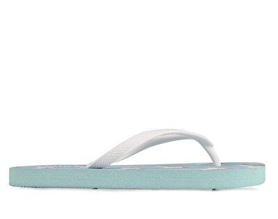 Resim Mavi Kız Çocuk Plaj Terliği