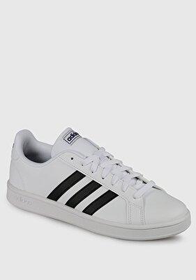 Resim Grand Court Base Beyaz Erkek Sneaker Ee7904