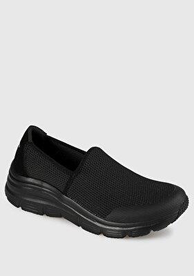 Resim Siyah Kadın Sneaker 13312Bbk