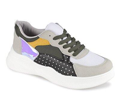 Resim Haki Kadın Sneaker
