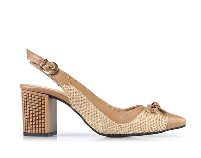 Resim Vizon Kadın Topuklu Ayakkabı